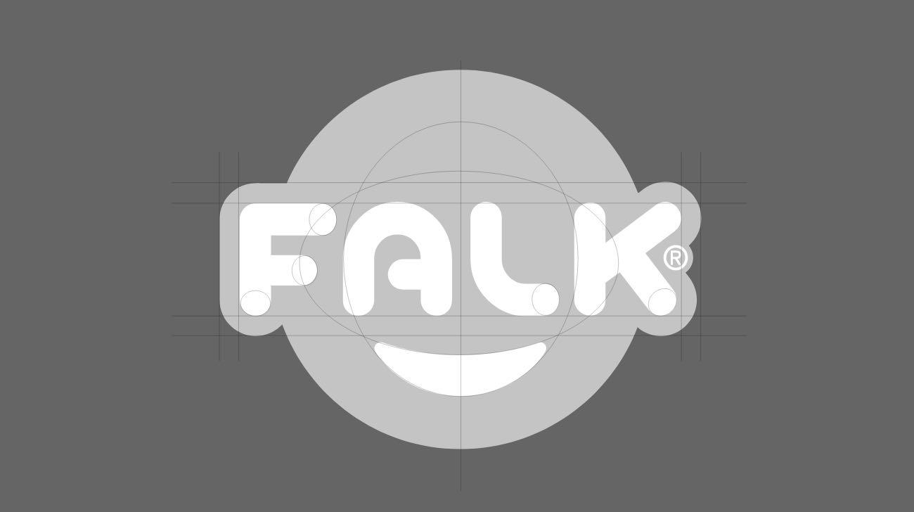 construction de la marque FALK