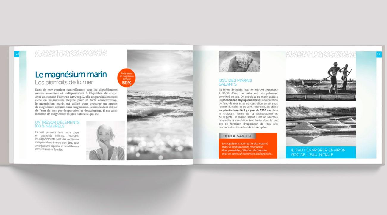 Brochure design Laboratoire Actinova