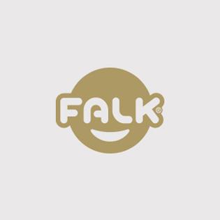 logotype Falk Toys