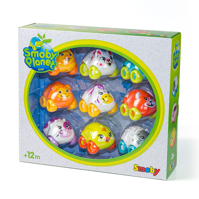 packaging jouets Smoby planet